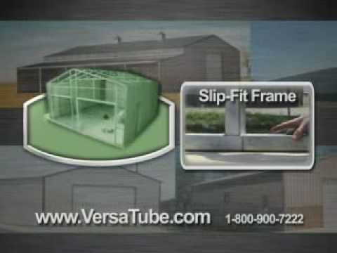 DIY Metal Building Kits by VersaTube Building Systems - TV Commercial