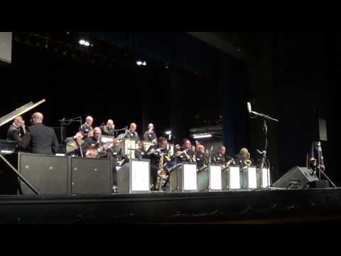 "Navy Band's ""Commodores"" Big Band live in Highland Park, IL"