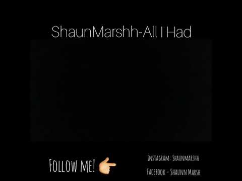 ShaunMarshh - All I Had (Official Audio) EMOTIONAL DEEP RAP