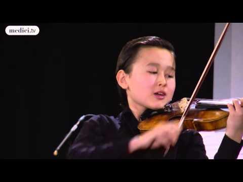 Daniel Lozakovich and Julien Quentin - Tzigane - Maurice Ravel