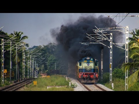 Before the Electrics Invade Ep.1 | Pure Diesel Action on Mysore Line