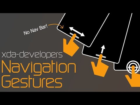 Xda Navigation Gestures adb Permission Process  #Smartphone #Android