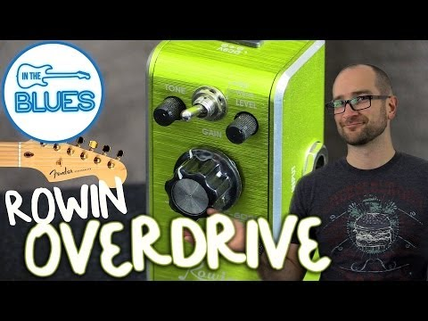 Rowin Overdrive Pedal LEF-602B Demo With A Fender Stratocaster