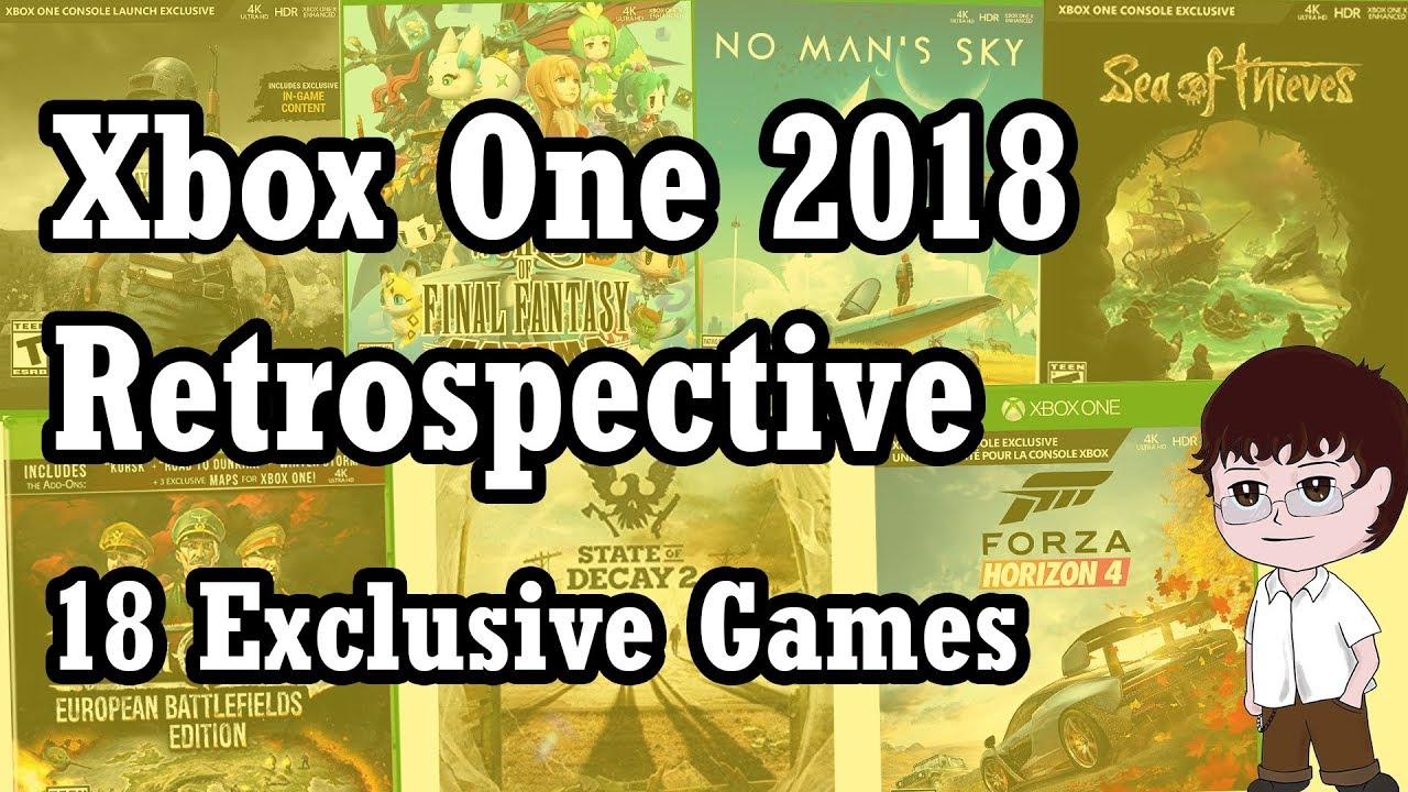Xbox One 2018 Retrospective - Top 18 Exclusives