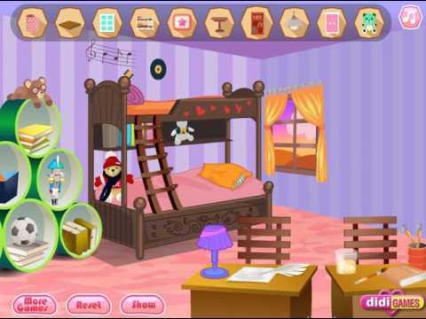 Dorm Decoration (Переделка комнаты в общежитии) - прохождение игры