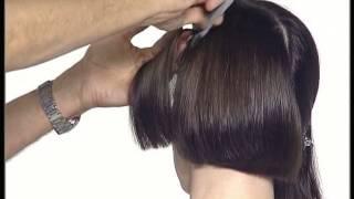 Смотреть видео каре причёска без чёлки