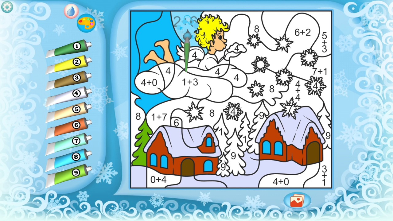 Christmas Coloring Pages - YouTube