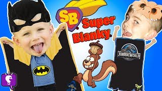 Something Squirrelys Going on? BLANKY CAPEs with HobbyKids