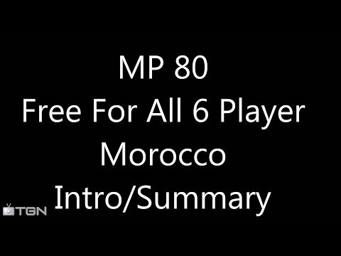 MP 080 Introduction/Summary: Morocco (6 Player Free For All) Gameplay/Commentary