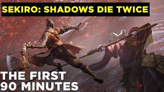Sekiro: Shadows Die Twice   First 90 minutes of gameplay