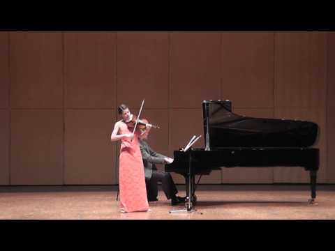 Simone Zgraggen, Violine, Joachim Kist, Klavier