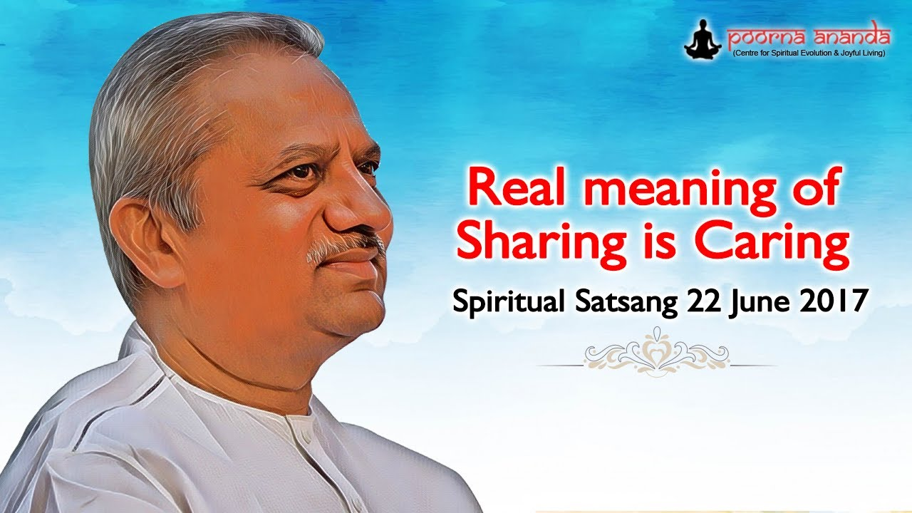 sharing is caring meaning