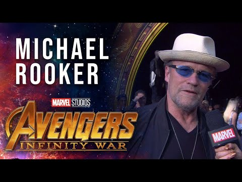 Michael Rooker Live from the Avengers: Infinity War Premiere