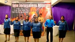 Yeshu Ka Naam Kitna Mahan Hindi Worship Song -  New Jerusalem Ministries