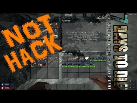 how to spawn in items in 7 days to die