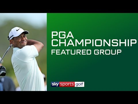 LIVE PGA CHAMPIONSHIP GOLF | Featured Groups | Day 1