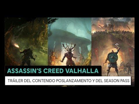 ASSASSIN'S CREED VALHALLA - Tráiler del Contenido poslanzamiento y del Season Pass
