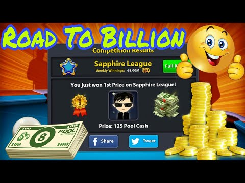8 Ball Pool - Road To Billion Coins Episode 6 - 400M Coins Special