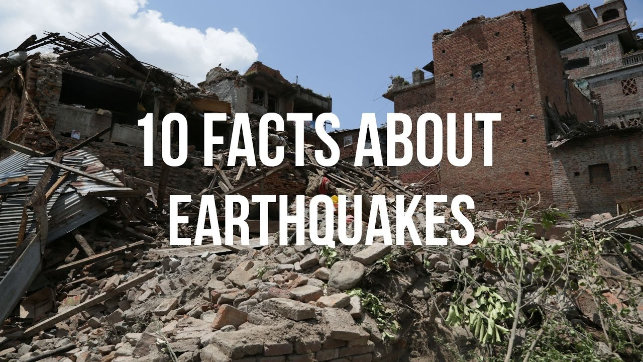 10 Crazy facts about earthquakes! - YouTube
