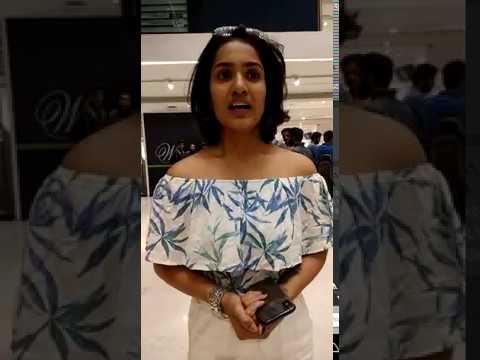 Saniya Iyyappan Thanking The Whole Team Of Beloved Short Film
