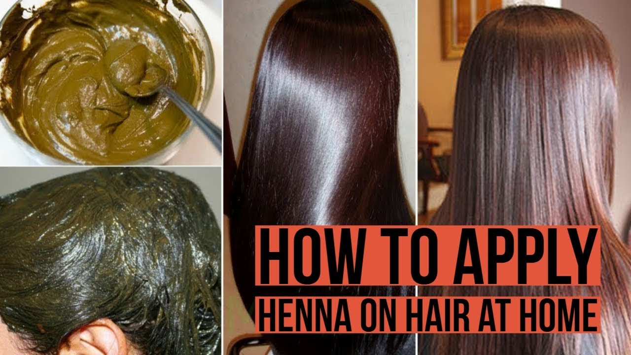 How To Apply Henna To Hair At Home In Hindi Color Your Hair At