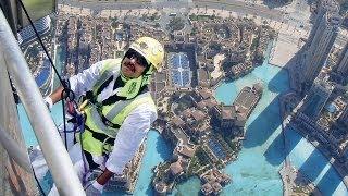 Preparations for Burj Khalifa opening ceremony in full swing