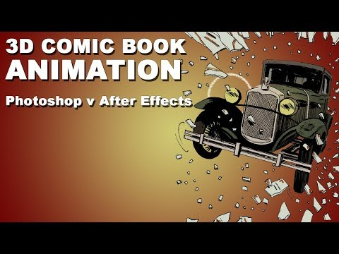 3D Comic Book Animation Showdown