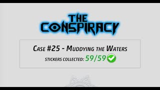 Criminal Case - The Conspiracy, Case 25 - Muddying the Waters