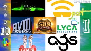 Top-10 Tamil Movie Production Company Intro's I Tech Play I 1080p HD and 5.1 dolby