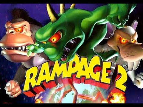 Rampage 2: Universal Tour Full Movie All Cutscenes Cinematic