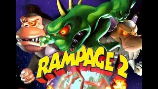 Rampage 2: Universal Tour Full Movie All Cutscenes Cinematic