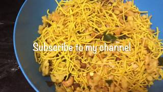 Spicy & Crunchy Mixture Recipe | South Indian Mixture Recipe | How to make Spicy Kerala Mixture |