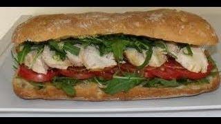 Portobella Fajitas - Sandwich Recipes