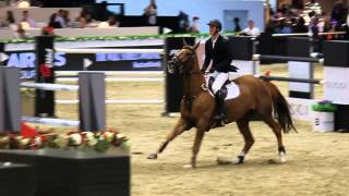 Jos Verlooy and a gelding by Diamant de Semilly Sunshine at the LA MASTERS LONGINES