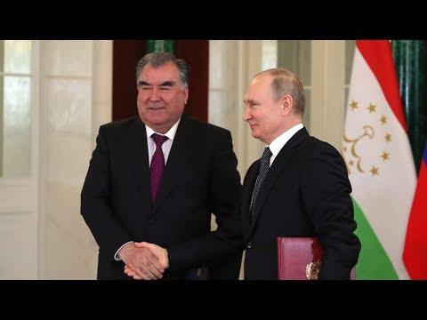 Рахмон приедет в Москву на 75-летие Великой Победы
