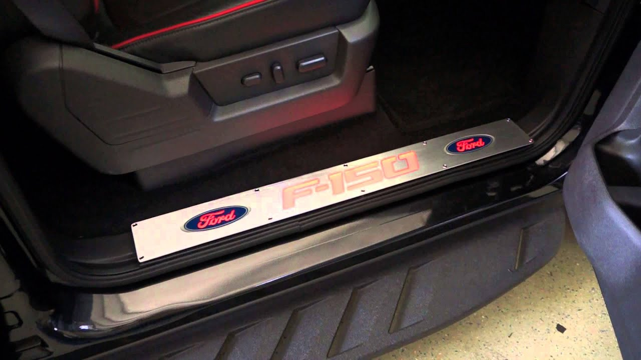 RECON Part # 264321FDRD Ford 09-14 F-150 Door Sill Brushed ...