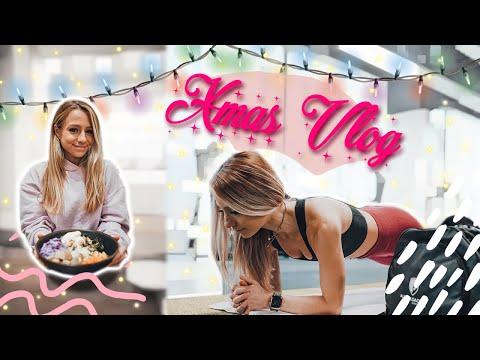 Behind the Scenes Fitnessmodel Fotoshooting  Erdnussbutter Veggiebowl   XMAS VLOG
