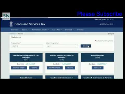 How to file GST return online | How to add GST invoice to Online Gst Portal | Part 1| Software