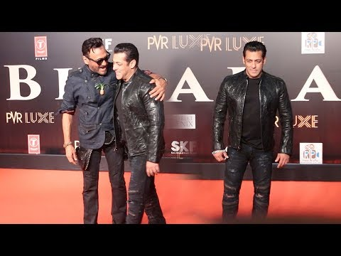 Salman Khan's MACHO ENTRY In Front Of Jacky Shroff At Bharat Movie GRAND PREMIERE