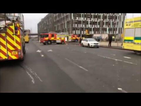 Watch live: Latest from Nottingham station fire