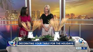 How to decorate your table for the holidays