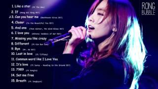 Best Songs of Kim Taeyeon 김태연   YouTube
