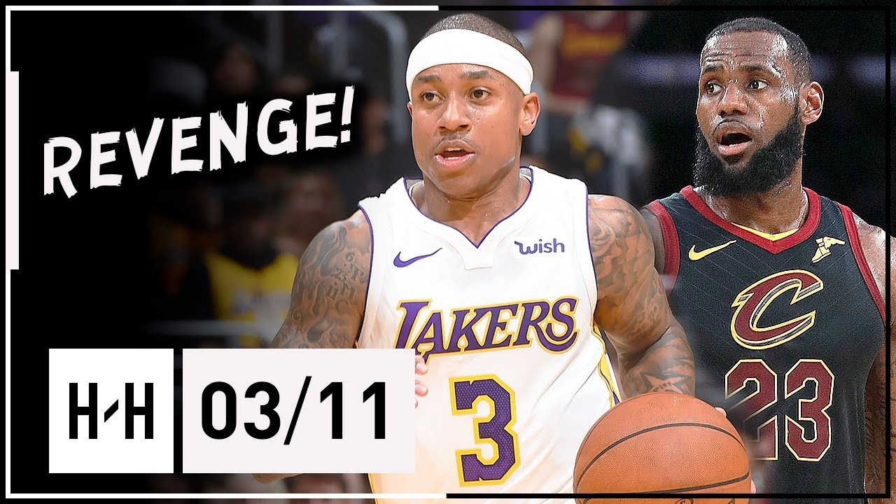 Isaiah Thomas Full Highlights Lakers vs Cavaliers (2018.03.11) - 20 Pts, 9 Assists vs LeBron!
