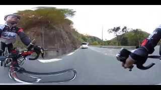 ◆360度VR動画!ロードバイクでダウンヒル!【Theta S】bicycle