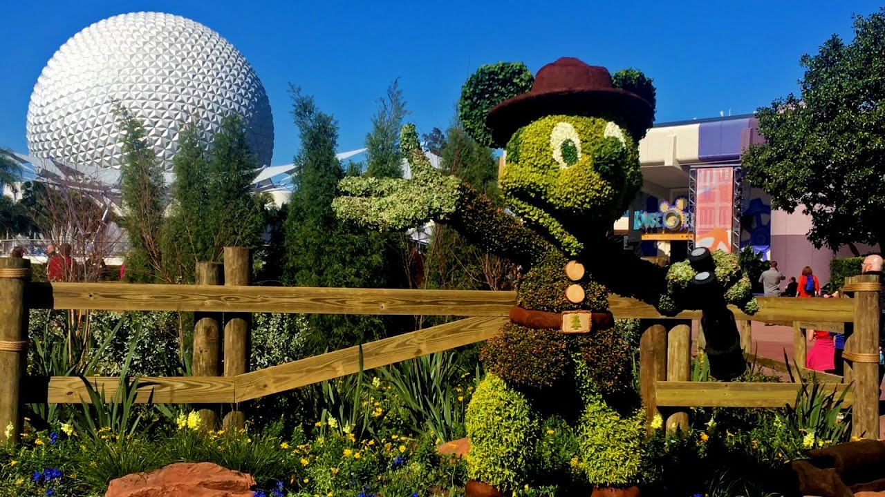 disney flower and garden. Epcot Flower Garden Festival Media Preview 2016 - Walt Disney World YouTube And