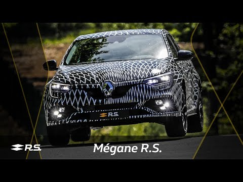 Nico Hülkenberg reviews the 4Control of the new Mégane R.S.