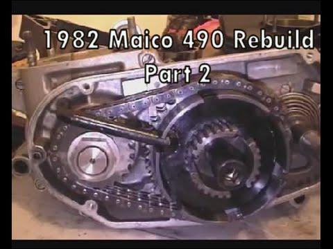 1982 Maico 490 Rebuild Part 2