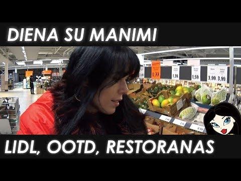 #VLOG: Lidl'as, bandom restoraną ir ootd | Justes Grozio  Kanalas