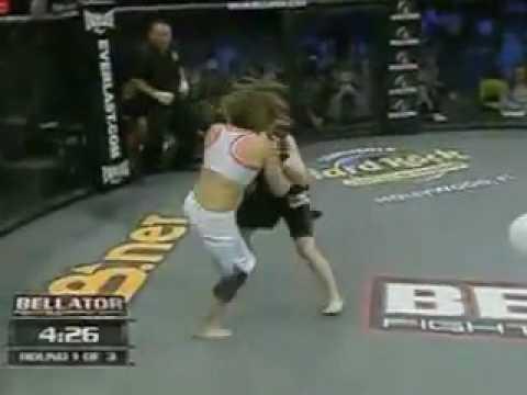 (MMA) Bellator21. Megumi Fujii vs. Sarah Schneider...