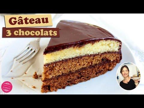 🍫-recette-du-gateau-3-chocolats-:-noir,-au-lait-et-blanc-🍫